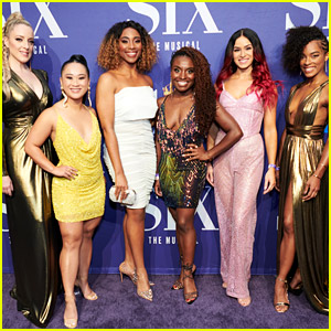 The Stars of Broadway's 'Six' Celebrate at Opening Night Party After Earning Rave Reviews!
