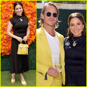 Sophia Bush is Joined by Fiance Grant Hughes at Veuve Clicquot Polo Classic 2021!