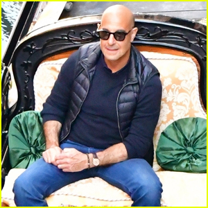 Stanley Tucci Travels Around Venice While Filming 'Searching for Italy' Season Two