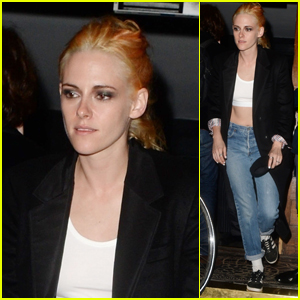 Kristen Stewart Enjoys a Night Out at the Club in London