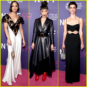 Tessa Thompson & Ruth Negga Join Rebecca Hall at 'Passing' Premiere During NYFF