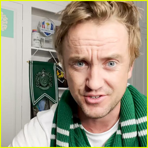 Tom Felton Is Still Shocked By What 'Harry Potter' House He Was Sorted Into
