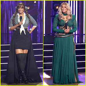 Tyra Banks Paid Tribute to Britney Spears with Two Looks & a Touching Message on 'DWTS'