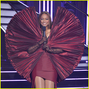 Tyra Banks Defends Her Unique 'DWTS' Dress After It Was Compared to a Dinosaur