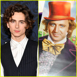 Timothee Chalamet Shares a First Look at 'Wonka'!