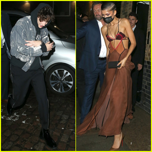 Zendaya & Timothee Chalamet Step Out for the 'Dune' Premiere After Party in London!