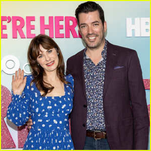 Zooey Deschanel & Jonathan Scott Couple Up for Season Two Premiere of 'We're Here'